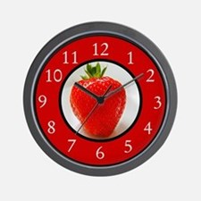 Funny Fruits Wall Clock
