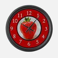 Cute Fruit Large Wall Clock