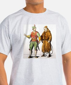 Engraving. Galley soldier and his sl T-Shirt