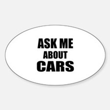 Ask me about Cars Decal