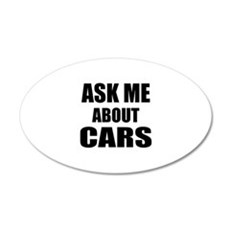 Ask me about Cars Wall Sticker