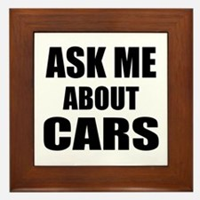 Ask me about Cars Framed Tile
