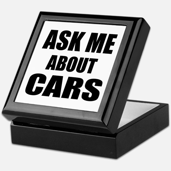 Ask me about Cars Keepsake Box