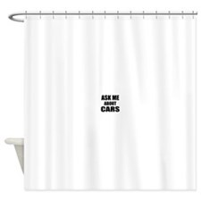 Ask me about Cars Shower Curtain