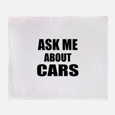 Ask me about Cars Throw Blanket