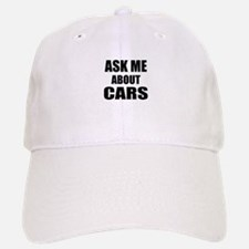 Ask me about Cars Baseball Baseball Cap