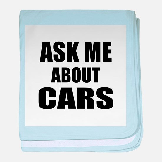 Ask me about Cars baby blanket