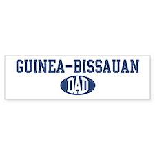 Guinea-Bissauan dad Bumper Bumper Sticker