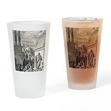 Jonah preaching to Ninevites, by Gu Drinking Glass