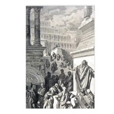 Jonah preaching to Ninevi Postcards (Package of 8)