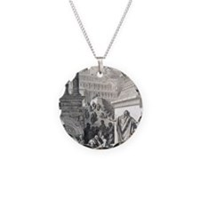 Jonah preaching to Ninevites Necklace