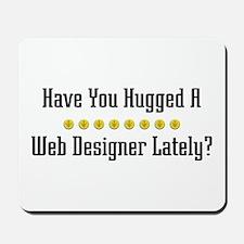 Hugged Web Designer Mousepad