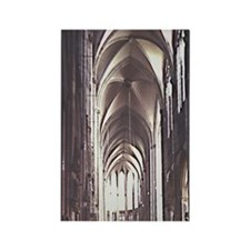Cologne Cathedral, Built in 1248, Rectangle Magnet