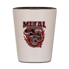 Heavy Metal Monsters Crest Shot Glass