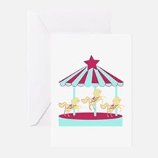Carousel Horse Greeting Cards