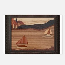 boats.png Postcards (Package of 8)