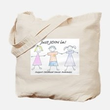Just Join In Tote Bag