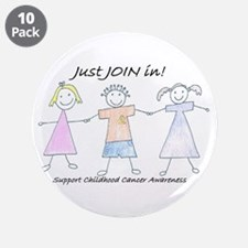 "Just Join In 3.5"" Button (10 Pack)"