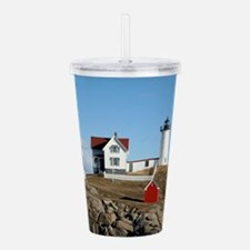 mainelighthouse2.png Acrylic Double-wall Tumbler