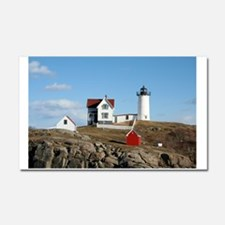 mainelighthouse2.png Car Magnet 20 x 12