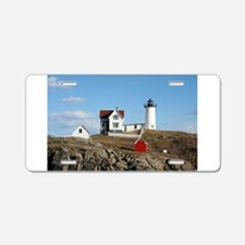 mainelighthouse2.png Aluminum License Plate