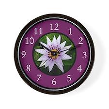 Funny Pink gerbera daisy Wall Clock