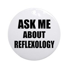Ask me about Reflexology Ornament (Round)