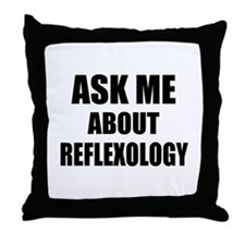 Ask me about Reflexology Throw Pillow