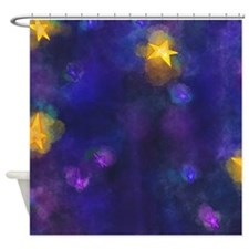 Unique Stary night Shower Curtain