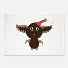 Monster Bat 5'x7'Area Rug
