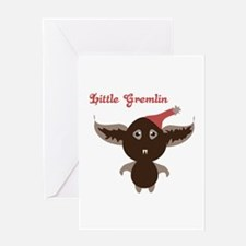 Gremlin Bat Greeting Cards