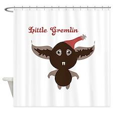Gremlin Bat Shower Curtain