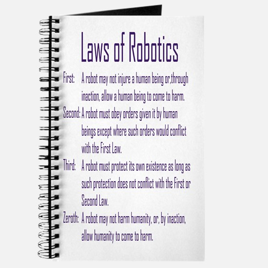Asimov's Robot Series Laws of Robotics Journal
