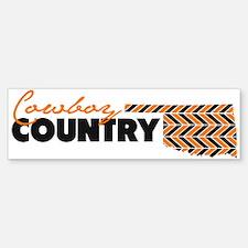 Cowboy Country Bumper Bumper Sticker