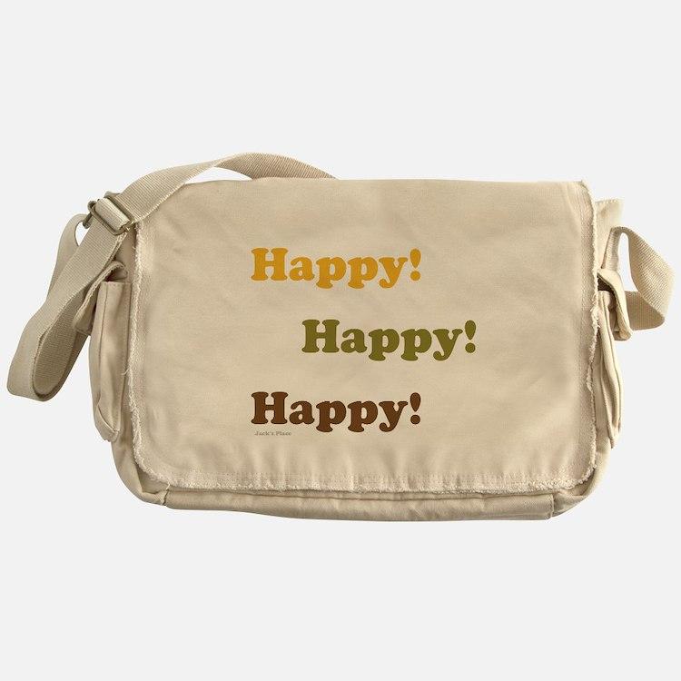 Happy! Happy! Happy! Messenger Bag