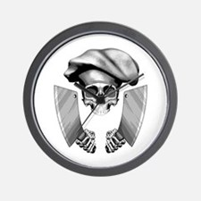 Chef skull: v1 Wall Clock