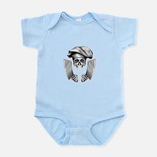 Chef skull: v1 Infant Bodysuit