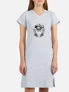 Chef skull: v1 Women's Nightshirt