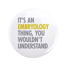 """Its An Embryology Thing 3.5"""" Button (100 pack)"""