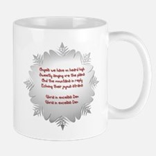 Angels We Have Heard on High Small Small Mug