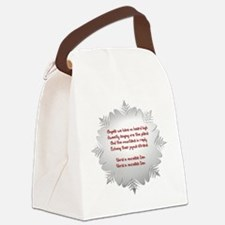 Angels We Have Heard on High Canvas Lunch Bag