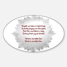 Angels We Have Heard on High Decal