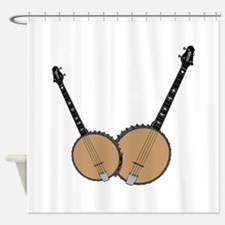 Two Banjos Shower Curtain