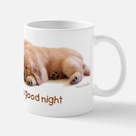 """Golden Retriever """"A Good Night"""" Mug"""