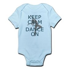 Keep Calm and Dance On Teal Body Suit