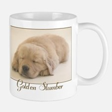 """Golden Retriever Slumber"" Mug"