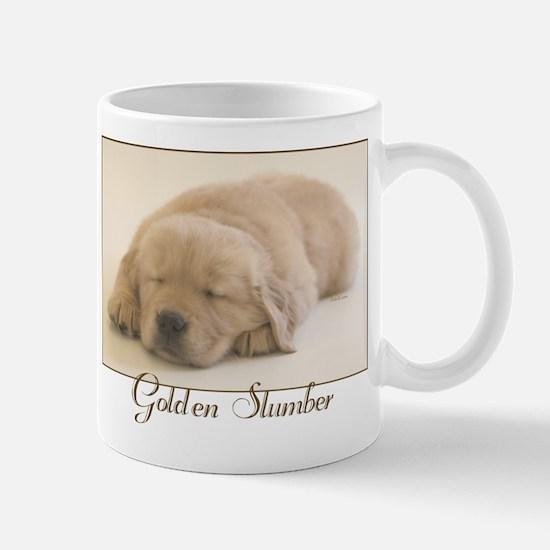 """Golden Retriever Slumber"" Mug"
