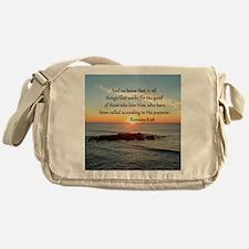 ROMANS 8:28 Messenger Bag