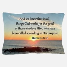 ROMANS 8:28 Pillow Case