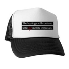 Beatings Morale Trucker Hat